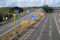 M40 westbound at junction 15, Sunday lunchtime - Geograph - 1521315.jpg