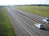 M11 - southbound from junction 11 - Geograph - 767757.jpg