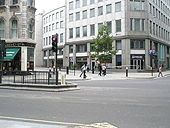 Junction of Queen Victoria and Watling Streets - Geograph - 881920.jpg