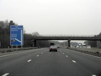M6 Motorway - Junction 12 Exit, Northbound - Geograph - 1677445.jpg