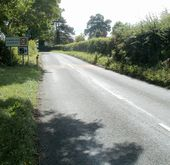 Northern boundary of Llanellen - Geograph - 2605450.jpg