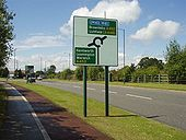 A452 Direction Sign Balsall Common - Coppermine - 13553.jpg