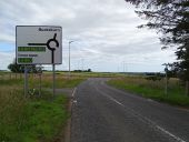 Kingswells North Junction - roundabout direction sign on local road.jpg
