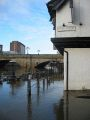 113-1351 IMG - 20030104-1311 - Ouse Bridge from King Street in Flood 53.957049N 1.083087W.JPG