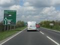 A141 approaching Mill Hill roundabout - Geograph - 1819838.jpg