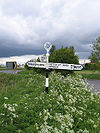 Holland County Council fingerpost road sign, Low Fulney, Lincs - Geograph - 172653.jpg