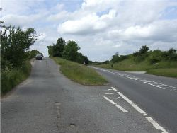 Layby at Cubley Carr - Geograph - 469411.jpg
