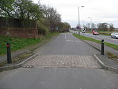 Ollerton - Station Road junction with A614 - Geograph - 1207822.jpg