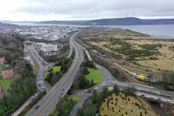 Raigmore Interchange - aerial from South East.jpg