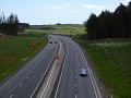 A90 AWPR - Cleanhill Roundabout north approach.jpg