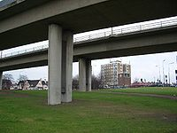 No red bridge at Redbridge - Geograph - 93791.jpg