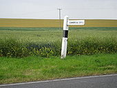 Swaffham Bulbeck- Sign to Commercial End - Geograph - 881033.jpg
