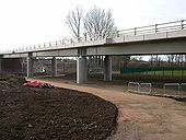Newbold-Western Relief Road Bridge - Geograph - 1763737.jpg