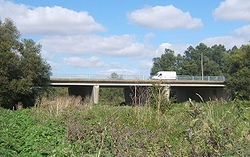 Road bridge over River Gipping - Geograph - 552460.jpg