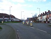 Roundabout on Blackhalve Lane - Geograph - 668247.jpg