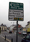 Direction signage, Georgetown, St.Helier Jersey - Coppermine - 18288.jpg