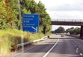 1 mile from M11 junction 8 - Geograph - 1487474.jpg