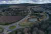 A96 Spey Bay Roundabout and Fochabers Bypass - aerial from W.jpg