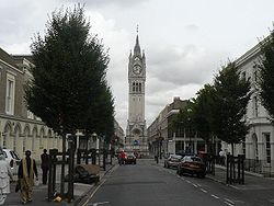 Gravesend; clock tower.jpg