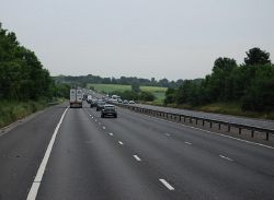 M11, northbound - Geograph - 3752933.jpg