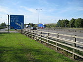 M1 Motorway at Toddington Services - Geograph - 872007.jpg