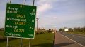 20190406-1643 - Route Confirmation Sign on old A1 heading north, Co Armagh 54.113279N 6.358526W.jpg