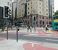 Leeds - 03 - City Square cycle lane - Coppermine - 1137.jpg