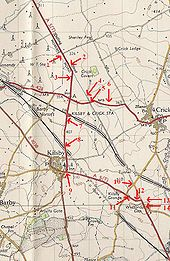1955 Map of Watling Street and the A5 - Coppermine - 2679.jpg