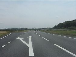 A14 at the junction for Leighton Bromswold - Geograph - 3580452.jpg