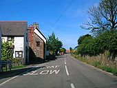 B4247 looking west at Middleton, Gower - Coppermine - 3142.jpg