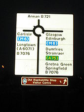 M6 sign at Gretna - Coppermine - 2392.JPG