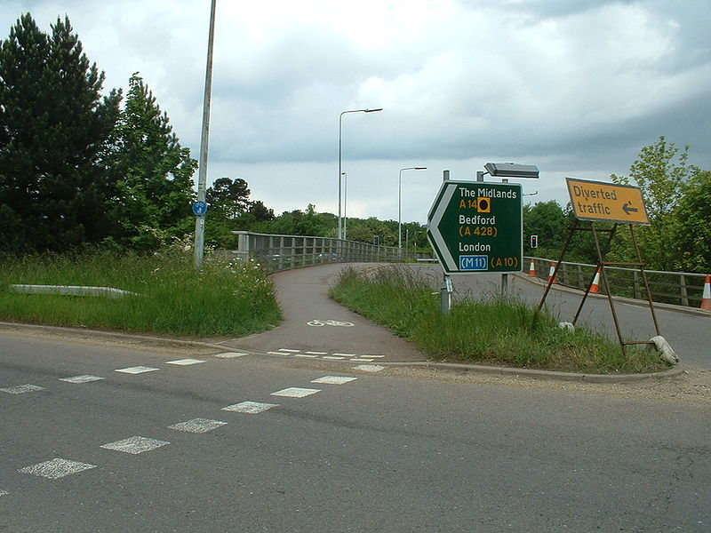 File:A14 Cambridge Junction 32 (Histon) - Coppermine - 6120.jpg