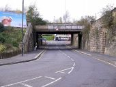 Railway Bridge, Redheugh Bridge Road (C) Andrew Curtis - Geograph - 2714835.jpg