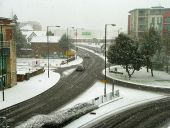 A snowy day in Crawley town - Geograph - 3300110.jpg