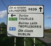 New regional road signage erected along the detrunked N8 - Coppermine - 22137.jpg