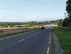 Road from airport to Waterford (C) David Hawgood - Geograph - 1475739.jpg