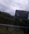 Variable message sign on the A9 at Loth.jpg