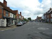 Traffic markings in Amersham Old Town... (C) Basher Eyre - Geograph - 2254819.jpg