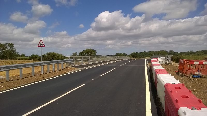 File:20200705-1253 - Albury Road Bridge - recently opened, Little Hadham.jpg