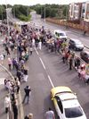 Fareham torch relay Gosport Road.jpg