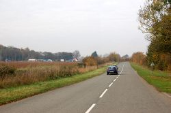 The old Great North Road near Stibbington - Geograph - 1563729.jpg