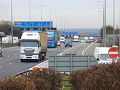 M1 at Leicester Forest Services - Geograph - 738645.jpg