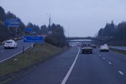 M4 eastbound at junction 47 - Geograph - 4346636.jpg