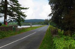 R764 road at The Pond, near Roundwood, Co. Wicklow - Geograph - 4061971.jpg