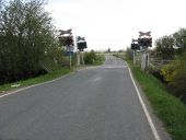 Redmoor Lane level crossing - Geograph - 1818243.jpg