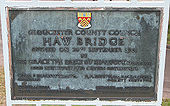 Plaque on Haw Bridge - Geograph - 698766.jpg
