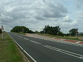 M11 Junction 12 near Cambridge - Coppermine - 7910.jpg