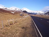 A93 near the Spittal of Glenshee - Coppermine - 5418.jpg
