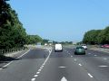 M27, Sliproad at Junction 10 (North Hill) - Geograph - 3735187.jpg