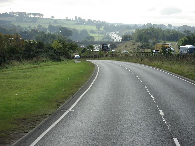 File:Old A74 (B7078) south of Blackwood - Coppermine - 15500.JPG